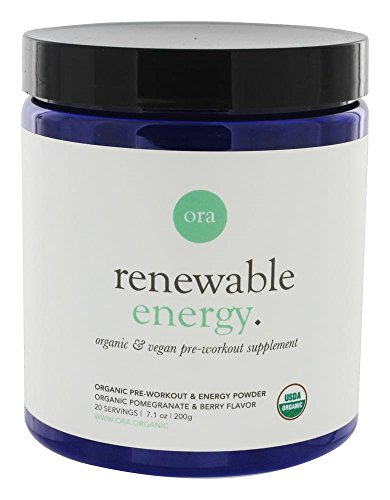 Ora Organic - Natural Pre Workout Powder for Men & Women