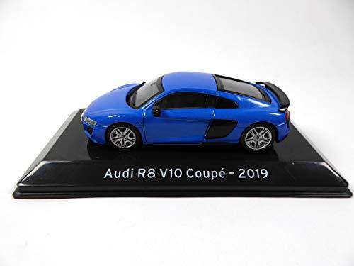 OPO 10 - Collezione di Auto 1/43 Supercars Compatibile con Audi R8 V10 Coupé 2019 (S63)