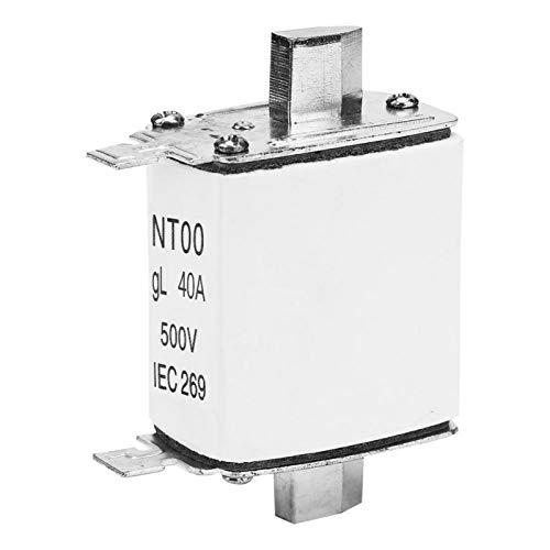 Eslabón fusible de cerámica de hoja, NT00 RT16-00 Protector de sobrecorriente para...