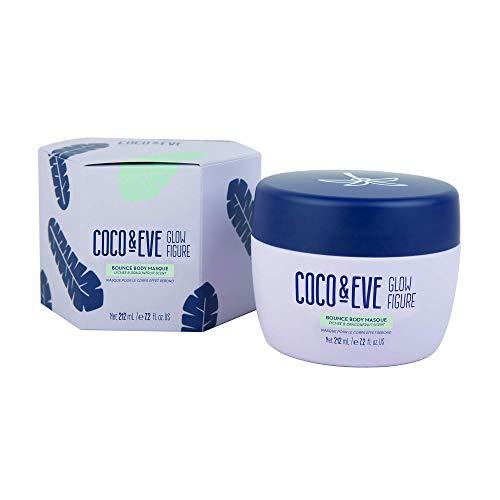 Coco & Eve Glow Figure Bounce - Maschera per il corpo all'argilla ad azione detox   skin care per il corpo   maschera anticellulite donna (212 ml)