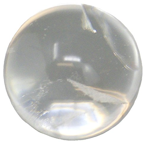 Bergkristall Kugel klein, 1 Stück, 2,5 cm bis 3,5 cm, Kristallkugel Kristall klar