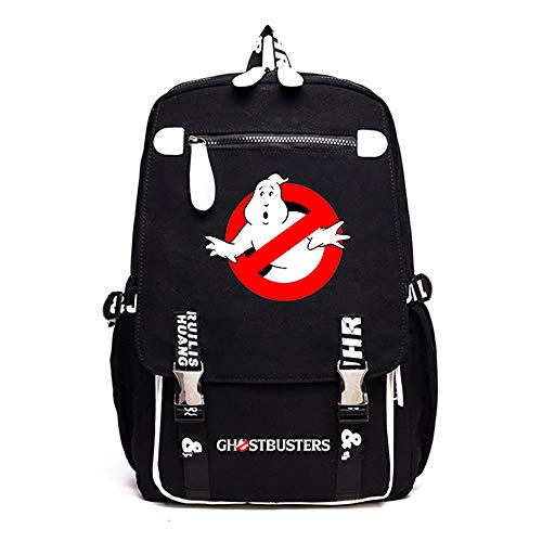 Ghostbusters Freizeitrucksack Sport-Rucksack beiläufige Schule Rucksack Computer-Rucksack Große Kapazität Reisetasche Daypack Unisex (Color : A02, Size : 46 X 30 X 16cm)