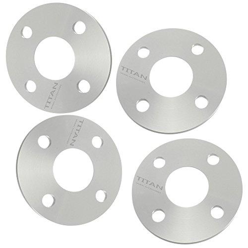 (4) 5mm Hubcentric 4x100 Wheel Spacers fits Mazda Miata Scion xA xB Toyota MR2 Celica 54.1mm