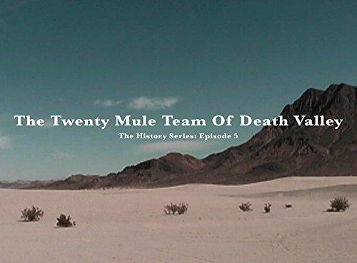 THE TWENTY MULE TEAM OF DEATH VALLEY