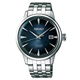 Seiko Mens Analogue Automatic Watch with Stainless Steel Strap SRPB41J1