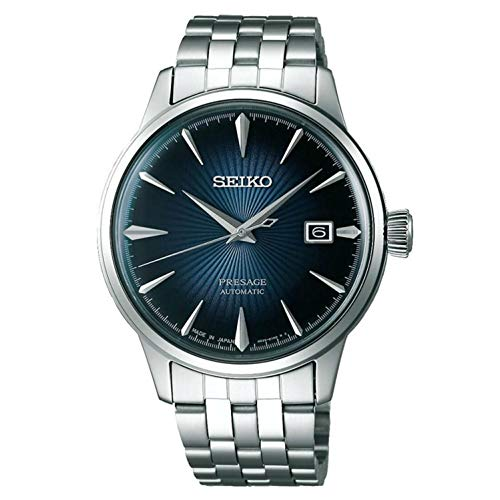 Seiko Mens Analogue Automatic Watch with Stainless...
