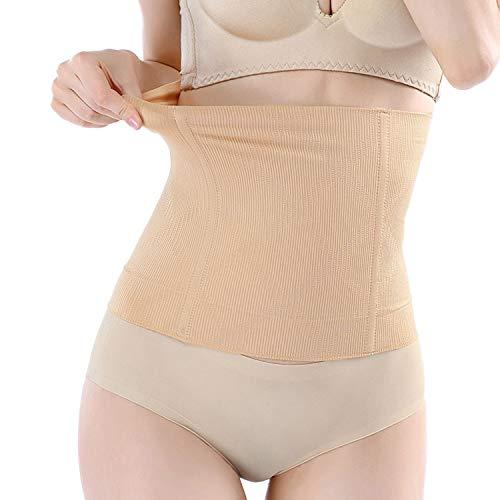 Stützende Bauchbinde-Bauchband-Bauchgürtel nach Geburt-Schwangerschaft-Kaiserschnitt stützend während Schwangerschaft und Stillzeit, nahtlos und atmungsaktiv (beige, XL/XXL)