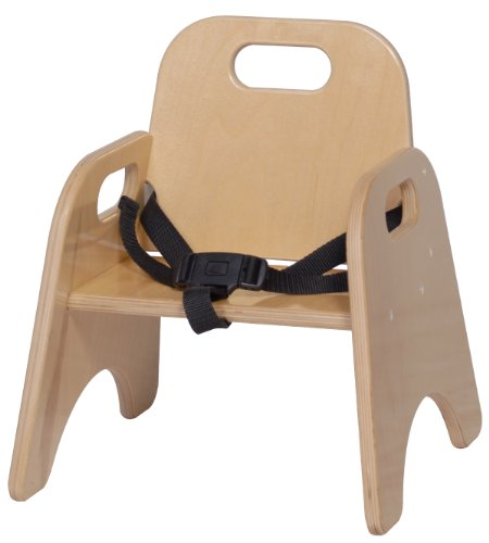 Steffy Wood Products 7Inch Toddler Chair with Strap