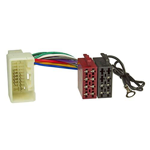 tomzz Audio 7037-003 Radio Adapter Kabel passend für Mitsubishi Pajero Outlander ASX ab 2007 auf 16pol ISO Norm