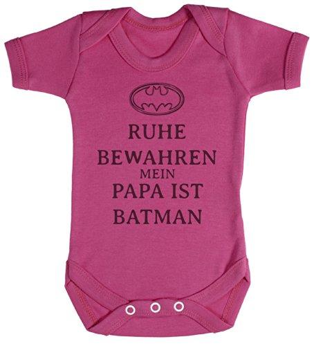 TRS - Ruhe Bewahren Batman Baby Bodys/Strampler Neugeborenen Rosa