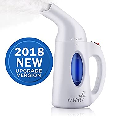 ABYON Steamer for Clothes,5-in-1 Powerful Handheld Clothes Steamers | Wrinkle Remover,Clean,Softens,Sterilize Steams Garment Fabric Automatic Shut-Off Safety Protection | Portable