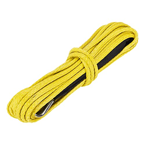EVTSCAN 15MTow Rope 7700LBS Winch Cable Safety Nylon Reemplazo para Smittybilt SUV...
