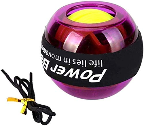 Buy No Electricity Gripping Strength Enhanced Gyroscope Ball Fitness Equipment, Home-Based Sports Wr...