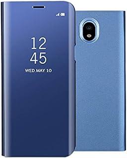 892c07f9910 Samsung Galaxy J7 2017 espejo Funda de espejo Flip Case, Espejo Reflexión  Brillante Ultra fino