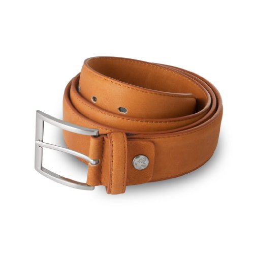 Nuvola Pelle - Ceinture en cuir - Soft Collection - Classic - 3,9cm - Marron - Homme