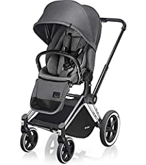 Usage age/weight capacity: Birth to 55 lbs Multi-position recline with just one hand, facing forward or rearward. Reversible seat unit: Can be inserted to face forward or backward Included: Bumper Bar, Car Seat Adapters and Rain Cover