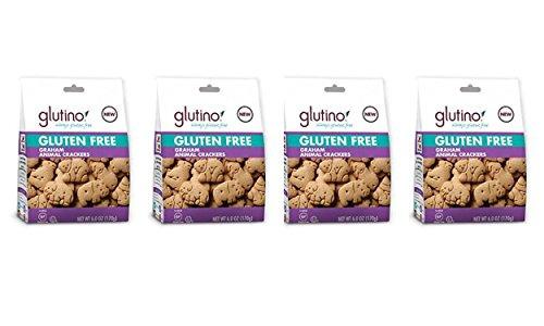 Glutino Gluten Free   Cookies Animal Crackers, Graham Flavored   6 OZ