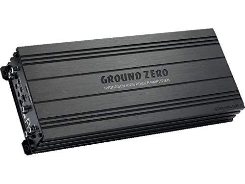Ground Zero GZHA Mini ONE-K - 1-Kanal Endstufe mit 1200 Watt (RMS: 1000 Watt)