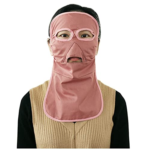 MOZHANG Mascarilla de protección contra radiación electromagnética Larga Anti-acné, protección contra la radiación, computadora, TV, WiFi EMF blindaje, Azul (Color : Pink)