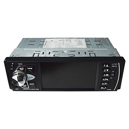 WOVELOT 4022D Telecomando Stereo del Autoradio del di Autoradio di Audio dell'automobile da 1 Pollice a 4.1 Pollici Senza Macchina Fotografica