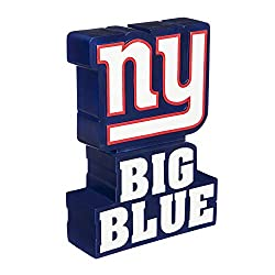 Team Sports America NFL New York Giants Fun Colorful Mascot Statue 12 Inches Tall