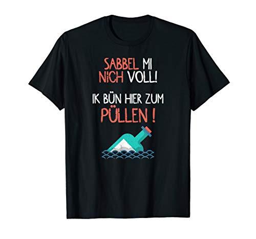 Herren Trinken in Norddeutschland I Sabbel nich T-Shirt