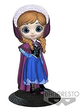 Disney- Figurine Q Posket- Anna- Manteau hiver- 14cm (Nintendo Switch)
