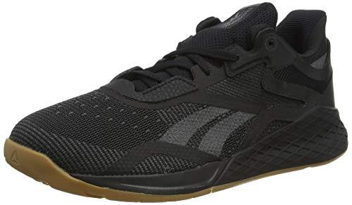 Reebok Herren Nano X Cross Trainer Schuhe, Black/True Grey Lee, 44 EU