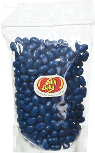 Jelly Belly Jelly Beans, Blueberry, 1 Pound