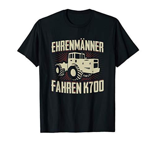Herren Landwirt Bauer K700 Ehrenmänner Traktor Trecker Schlepper T-Shirt