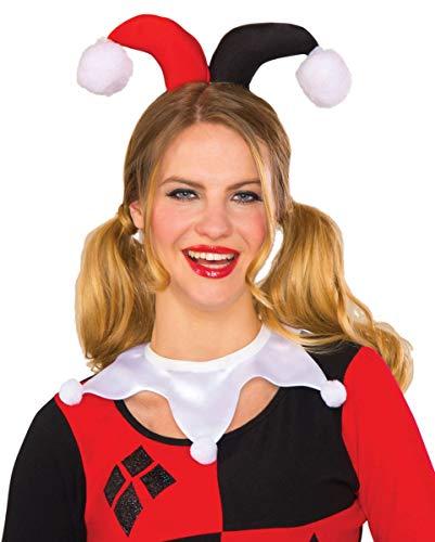 Horror-Shop DC Comics Harley Quinn Kragen für Cosplay & Karneval
