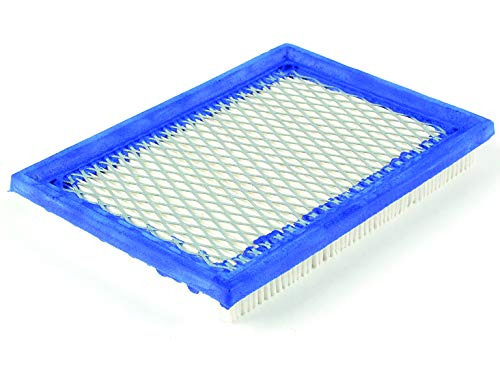 Ratioparts Flachluftfilter 160 x 115 x 20 mm f/ür Briggs /& Stratton John Deere S Luftfilter Flach Wei/ß Blau