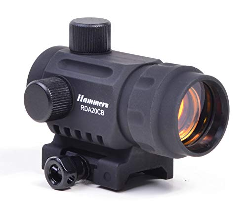 Hammers Lightweight Compact 3 Dot Crossbow Mini Red Dot Sight Scope RDA20CB