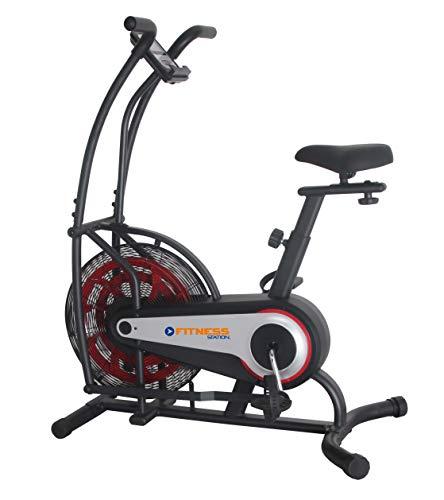 Fitness Station Bicicleta Fija para Ejercicio Gym Resistencia De Aire