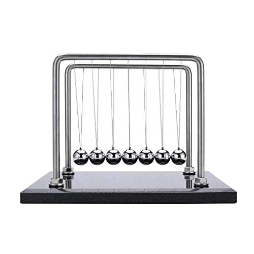 ZLBYB Toys for Desk, Newtons Cradle Magnetic Balls for Adults Stress Relief, Cool Fun Office Games Desktop Accessories,Calm Down Fidgets Kit Avoid Anxiety, Small Sensory Kids Toy, Gifts for Boys With