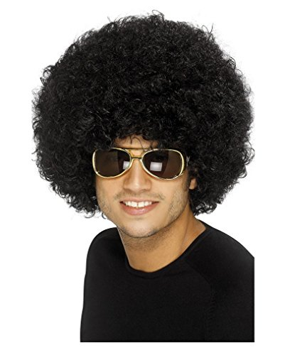 70s Funky Black Afro Wig