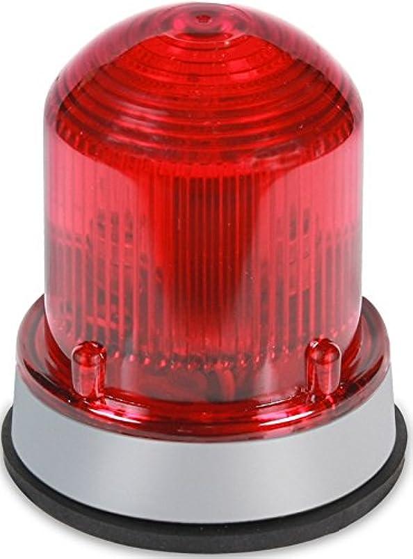 粒子松明動機付けるEdwards Signaling 125XBRMR24D XTRA-BRITE LED Multi-Mode Beacon, Steady-On/Flashing, 24V DC, Gray Base, Red by Edwards-Signaling