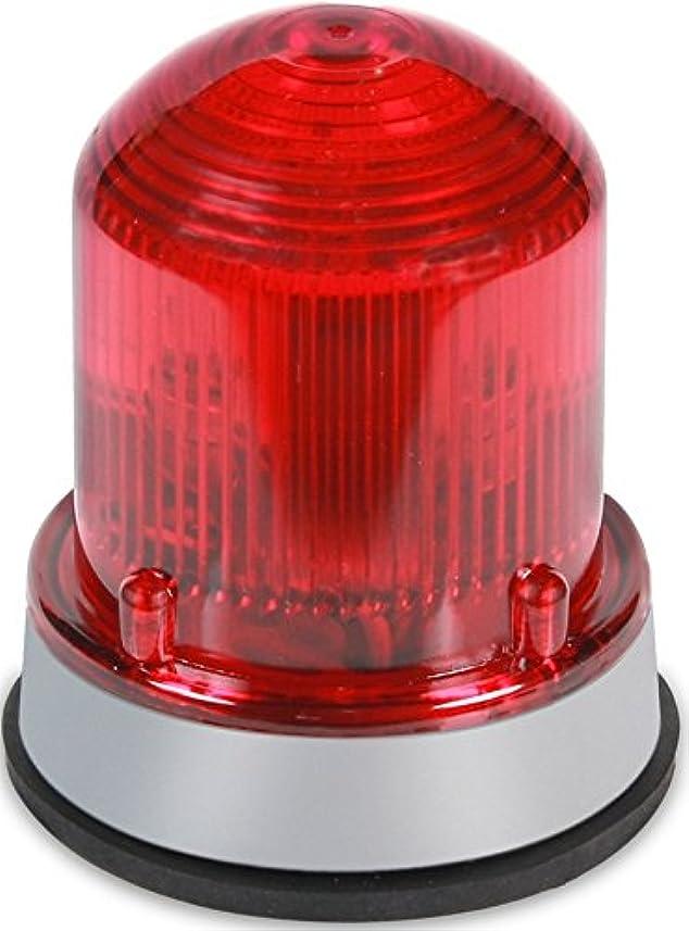 首謀者返済折Edwards Signaling 125XBRMR120A XTRA-BRITE LED Multi-Mode Beacon, Steady-On/Flashing, 120V AC, Gray Base, Red by Edwards-Signaling