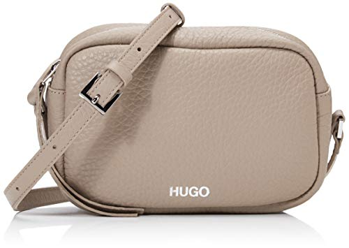 HUGO Damen Downtown Crossb-s Schultertasche Beige (Medium Beige)