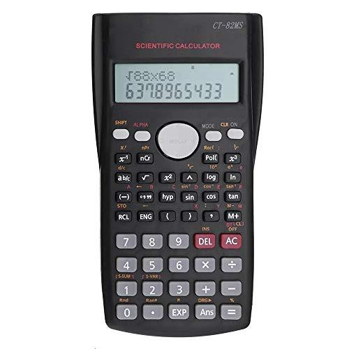 Feixunfan Calculadora Portátil de Dos líneas de visualización científica de la calculadora de Mano de múltiples Funciones de la calculadora Digital Calculadora Básica de Office