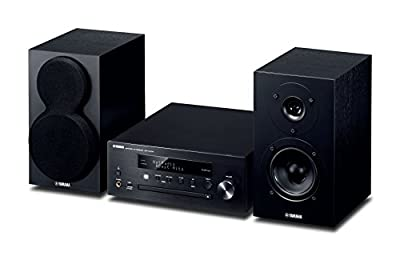 Yamaha MusicCast MCRN470D Network Hi-Fi System with Airplay and Bluetooth - Black by YAMA6