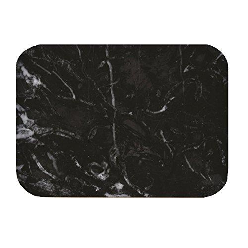 Zak! designs 1304-110 Plateau OSMOS S, marbre noir/blanc