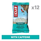 CLIF BAR - Energy Bars - Cool Mint Chocolate - With Caffeine (2.4 Ounce Protein Bars, 12 Count)