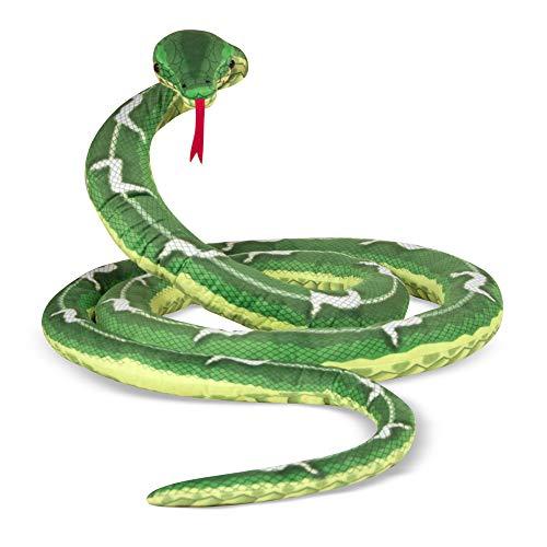 Melissa & Doug | Serpent en peluche | Animal | 3+