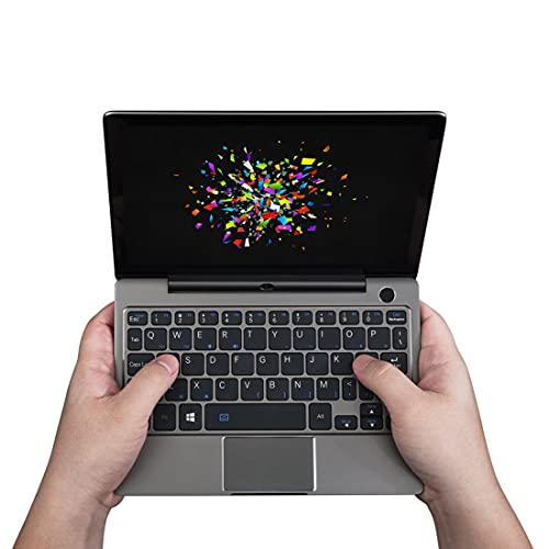 Morton3654Mam GP D P2 MAX - Ultrabook portátil (pantalla táctil de 8,9 pulgadas, Windows 10, CPU Intel m3-8100Y, 16 GB de RAM/512 GB de memoria, cámara integrada