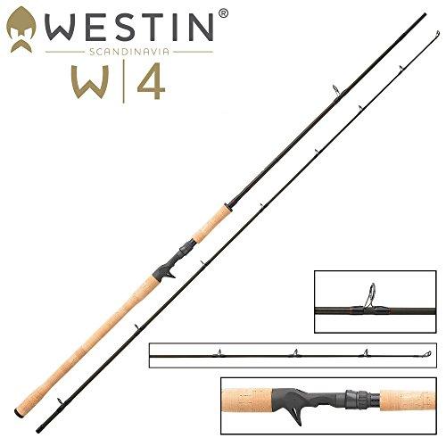 Westin W4 Powershad-T XH 240cm 30-90g - Spinnrute zum Hechtangeln, Spinnangel zum Spinnfischen mit Gummiködern, Hechtrute