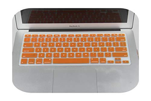 N/A New Us Version Funda de teclado de silicona para MacBook Air 13 Pro 13 15 17 Retina para Imac 21.5 pulgadas protector de teclado