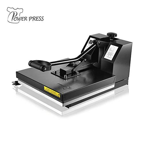 PowerPress – Máquina de impresión por sublimación Digital para Camisetas (Calidad Industrial, 38,1 x…