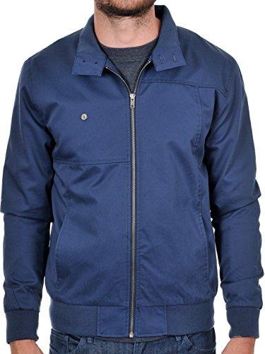 Volcom Hoxton Jacket Blouson Homme, Bleu (Vintage Navy), X-Small (Taille Fabricant: XS)