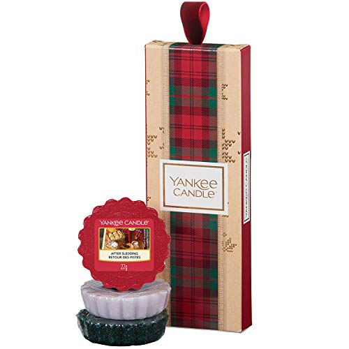 Yankee Candle Gift Set with 3 Scented Wax Melts, Alpine Christmas Collection, Festive Gift Box